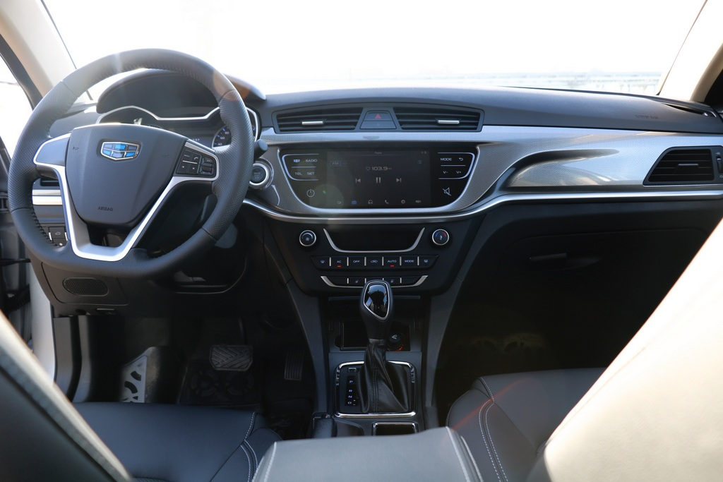 Geely Emgrand 7 фото