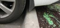 Как парковаться на седане у бордюра и не бояться поцарапать бампер?