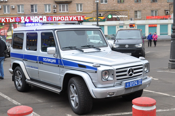 Mercedes-Benz G-klass фото