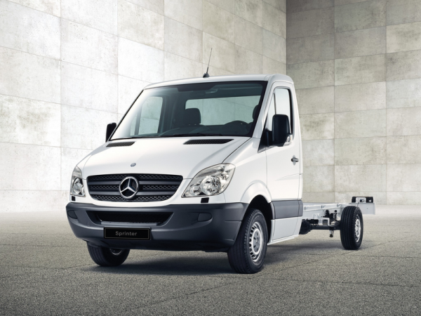Mercedes-Benz Sprinter Шасси фото